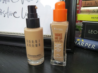 Drugstore Dupes Foundations Bobbi brown and rimmel london