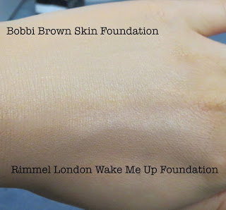 Drugstore dupes bobbi brown skin foundation and rimmel london wake me up