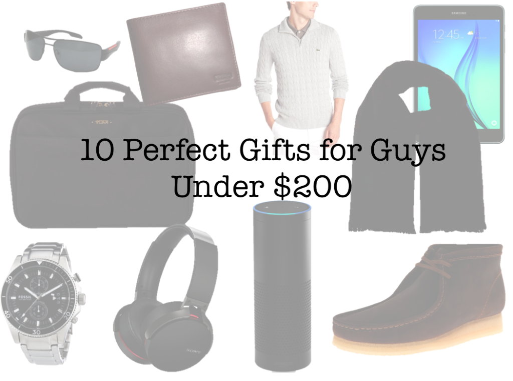 10 Perfect Gifts for Guys under $200 feature image